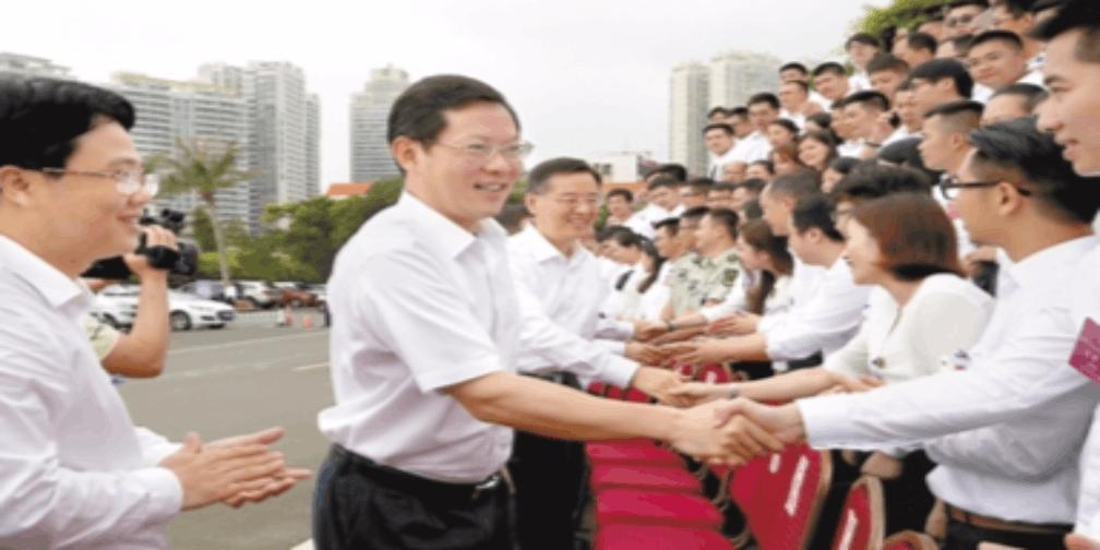 郑人豪寄望全市青年:为湛江振兴发展贡献青春力量