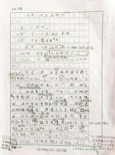 小学生写作文抱怨补课被批评 他自编自演抢劫案