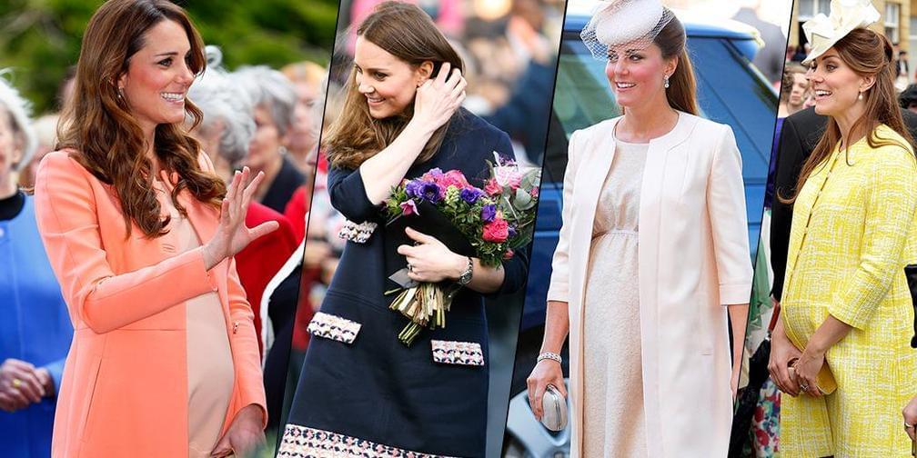 怀上第三胎的凯特王妃成了孕妇版时尚教科书
