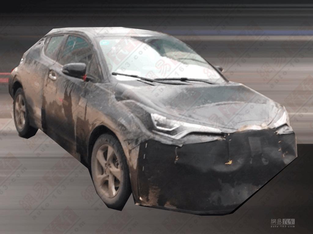 明年国产上市 丰田C-HR国内测试车曝光