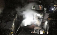 姜堰一长期空闲民宅莫名发生火灾