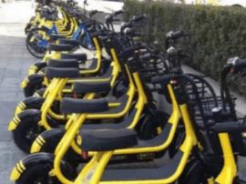 共享电动单车被叫停后重现街头 能否过审仍待定
