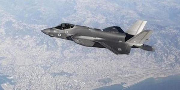 以色列F35大摇大摆飞越邻国领空