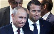 """俄法领导人同框玩""""表情包"""""""
