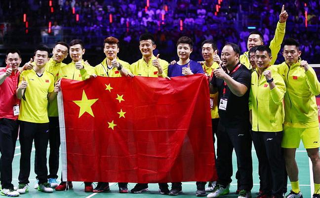 汤杯-中国3-1逆转日本夺冠