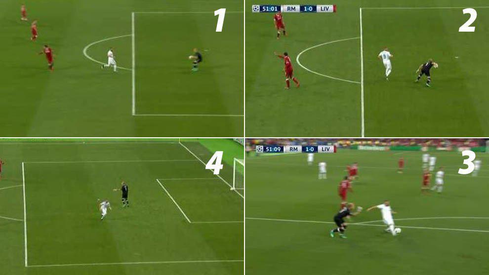 欧冠决赛世纪失误!门将手抛球 直接送皇马破门!