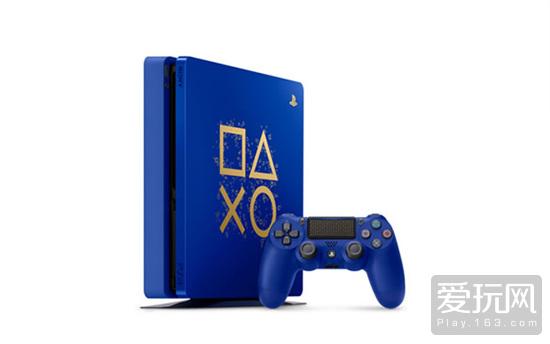 """特殊设计的""""Days of Play""""限定PS4主机"""