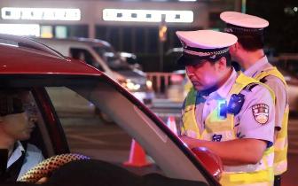 上周末 夜查交通违法行为已经开始!