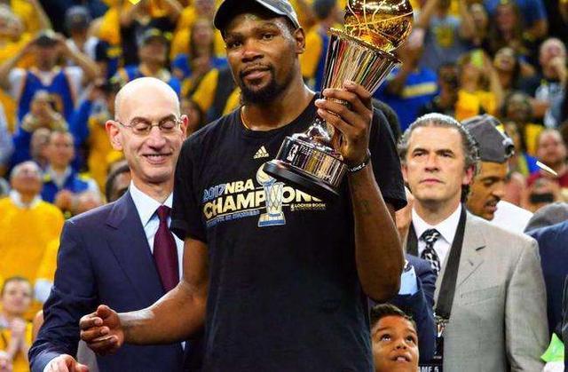 NBA-总决赛MVP最新赔率公布:杜兰特库里力压詹皇