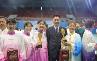 中科健康产业集团全力赞助上海千人男子太极拳活动