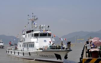 福建再添3艘300吨级先进渔政执法船 近期陆续入列