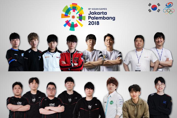 2018亚运会韩国电竞国家队公布:星际2人族Maru入选