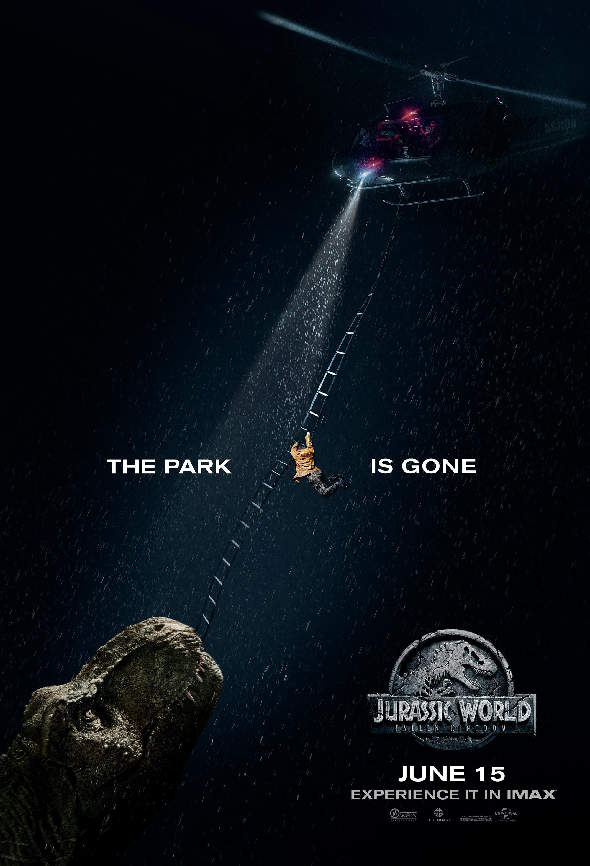 【侏罗纪世界2】IMAX专属海报