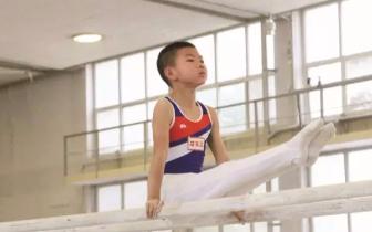 省运会体操预赛 小选手展现力与美