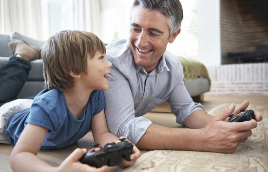dad-son-playing-video-games