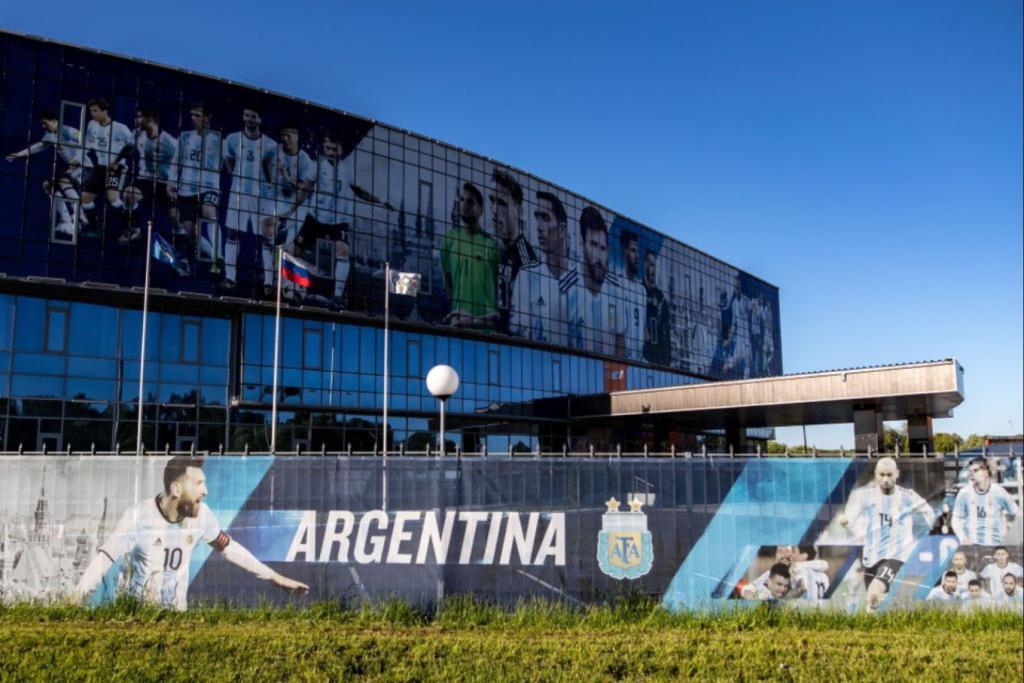 阿根廷在俄罗斯的训练基地
