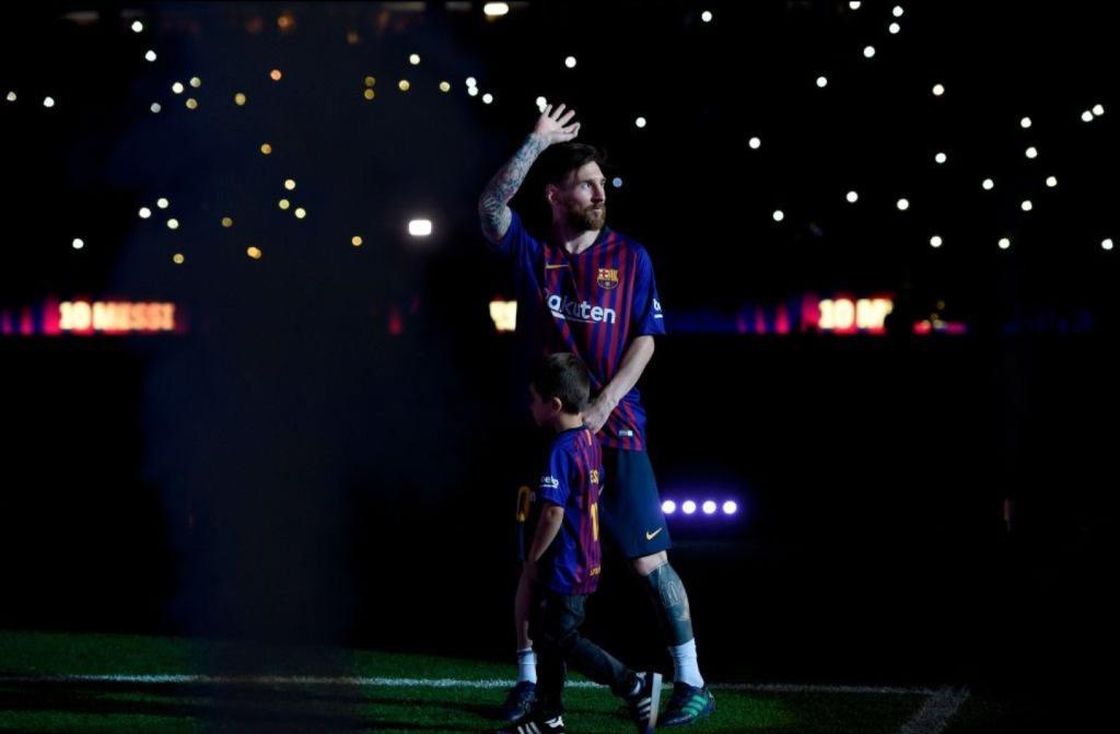 足坛最没意思的梅西与世无争 除了足球全是噪音!