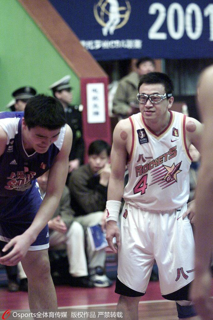范斌球员时期与姚明关系要好