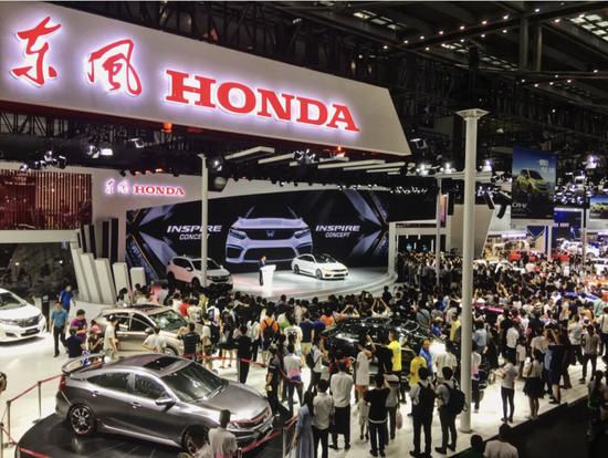 东风Honda全新概念车INSPIRE亮相