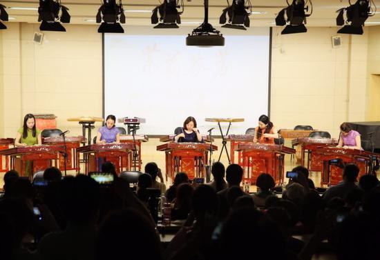 茉莉花扬琴重奏团十周年主题系列音乐会首场