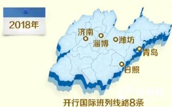 中亚班列5列/周 红岛站达四方 青岛正入国际朋友圈