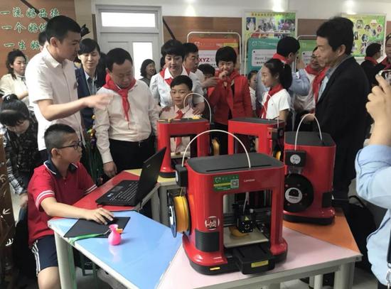 联想图像3D打印机,助力素质教育公益项目落地开花
