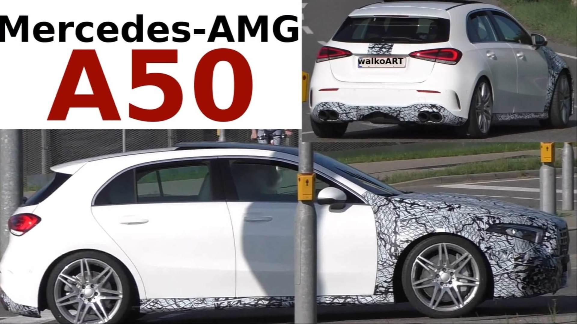 比A45更强 全新AMG A45将更名AMG A50