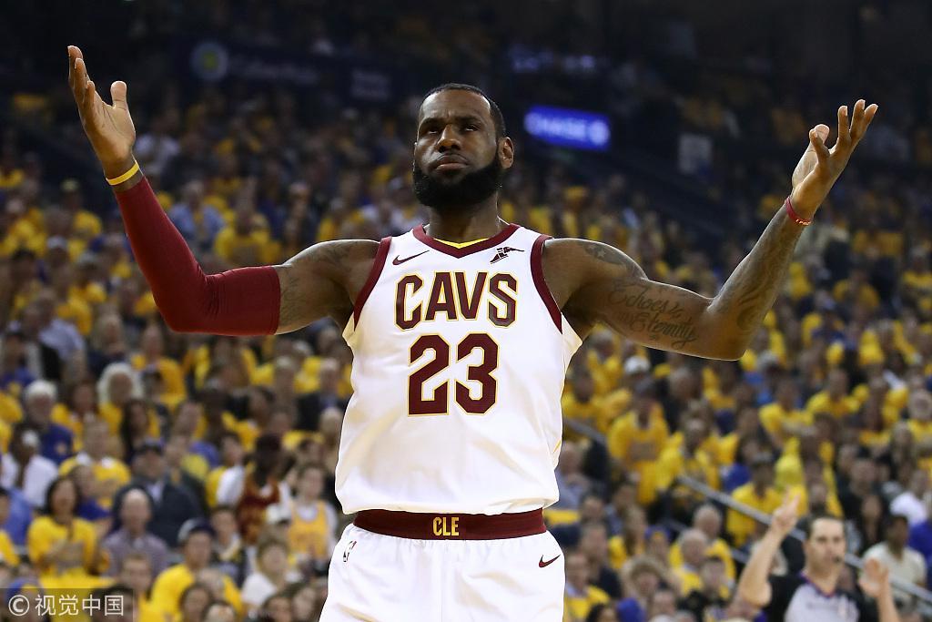 NBA-骑士再输勇士0-3落后?博彩公司观点令人绝望