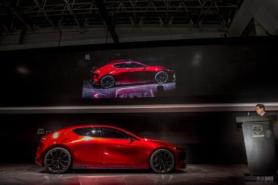 应该蛮帅的 新一代马3或于洛杉矶车展首发