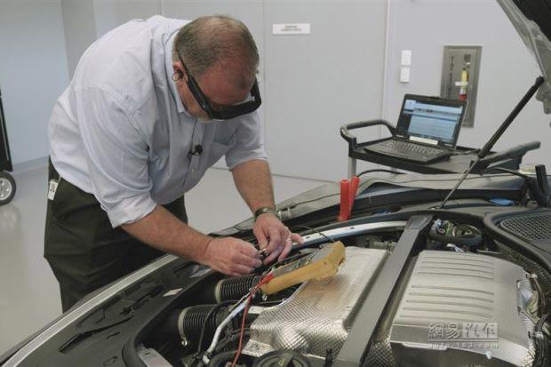保时捷:将使用增强现实技术缩短车辆修理时间