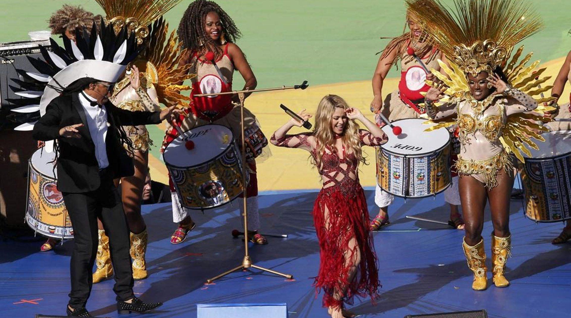 世界杯主题曲:从英雄赞歌到娱乐盛会 夏奇拉独霸三届