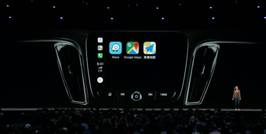 苹果发布iOS12系统 CarPlay将支持高德地图