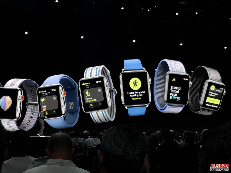 唤醒Siri更方便 新增对讲功能 Watch OS 5升级一览