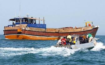 福建6艘船舶走私成品油 被海警官兵一一截获