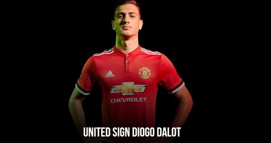 曼联宣布签下波尔图后卫达洛特 转会费约1900万镑