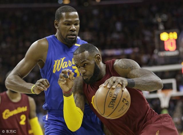 NBA-勇士横扫骑士无悬念?博彩公司开盘只看好这两种赛果