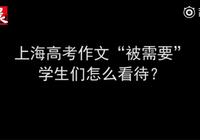 上海考生感觉今年语文比较难 家长觉得作文很容易