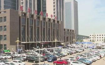 长治市政务中心路段交通调整后出现不文明现象