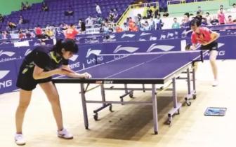 乒乓球预赛唐山落幕 石家庄表现亮眼