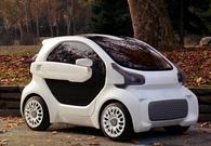 全球首款3D打印电动车