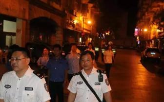 东兴市对四川路劳动街噪声扰民问题进行巡查
