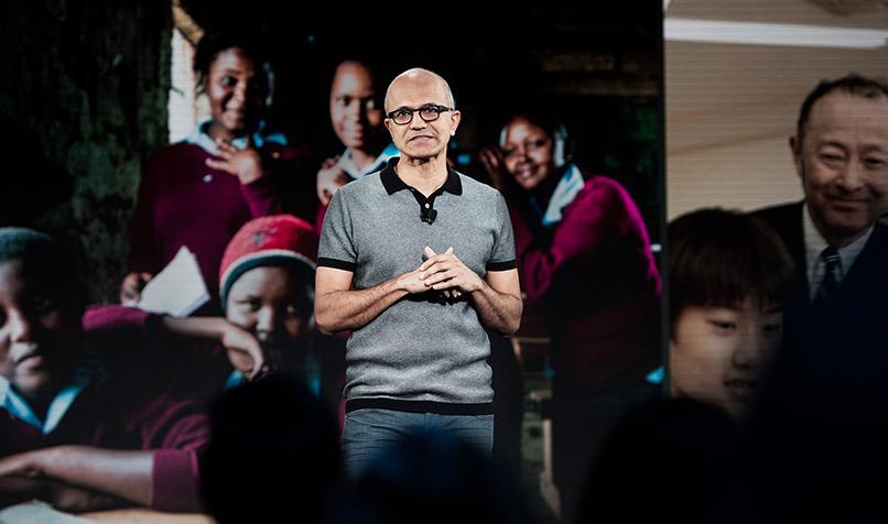 特稿   微软重回巅峰:纳德拉是如何扭转局面的