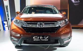 全新一代CR-V回归 重庆车展东风Honda全车系