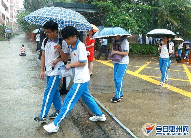 惠州逾3.4万名高考考生赴考 各考场实现零违纪