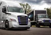 奔驰母公司推两款电动卡车:续航约400公里战特斯