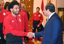 埃及总统接见全队