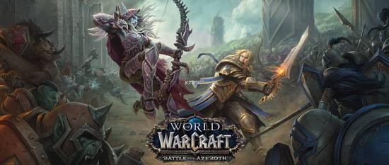 8月13日《魔兽世界》8.0全球同步开放 国服开放时间未知