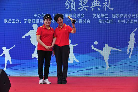 2018年全民健身挑战日暨宁夏全民健身节启动