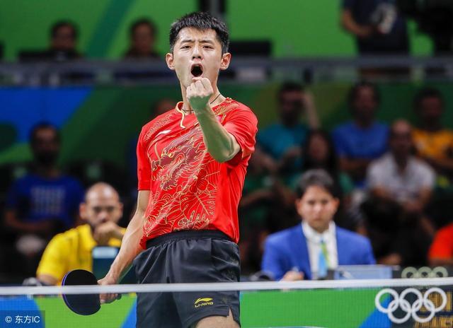 乒乓球中国赛-数据看低 张继科恐不敌日本华裔少年