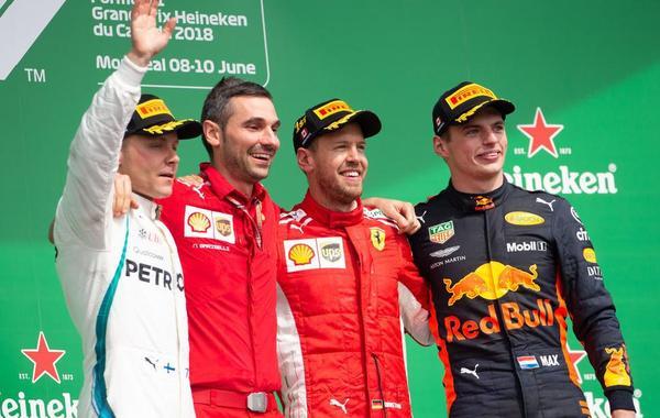 F1加拿大站维特尔轻松获胜